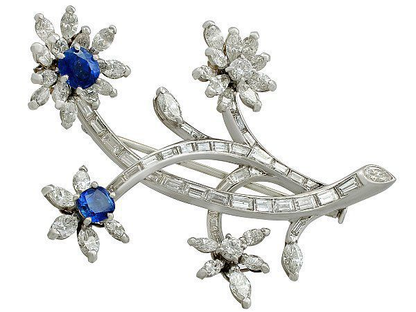 bridal flower brooch