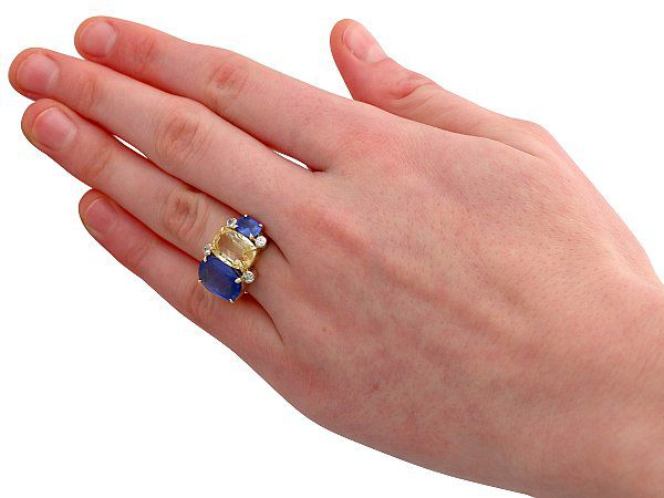 sapphire rings for brides