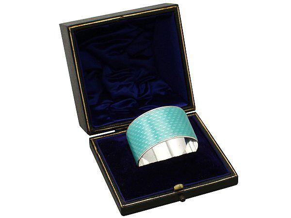 Adolph Scott Napkin Ring