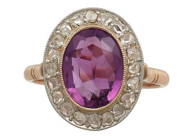 antique amethyst rings