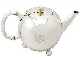 Edwardian bachelor teapot