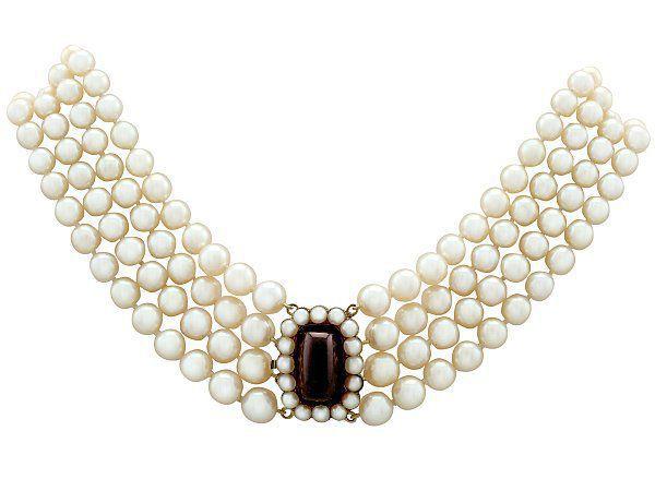 choker necklace style