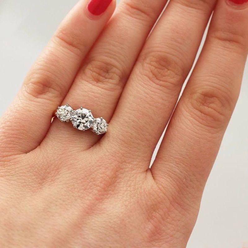 Diamond Wedding Rings Vintage