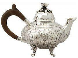 Victorian bachelor teapot