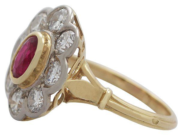 Ruby Colour Doublet ring
