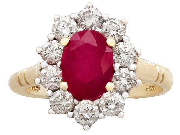 Ruby Vintage Ring