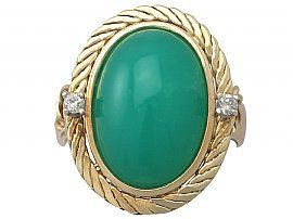 Chrysoprase Ring