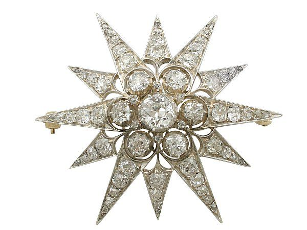 Antique Diamond Brooch