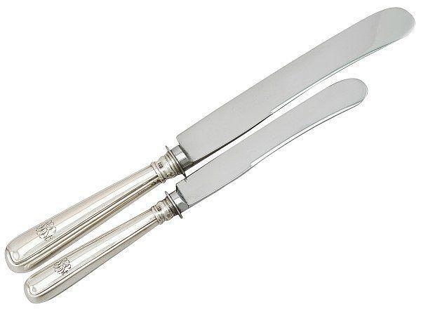 Cutlery Etiquette Knifes