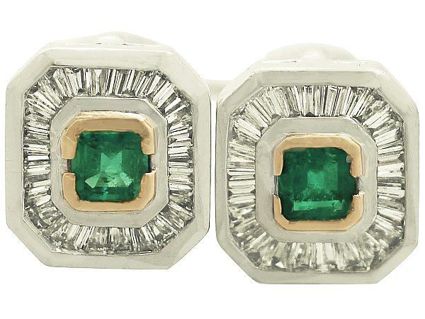 Vintage Art Deco Style Earrings