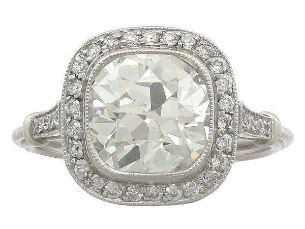 3 carat diamond ring
