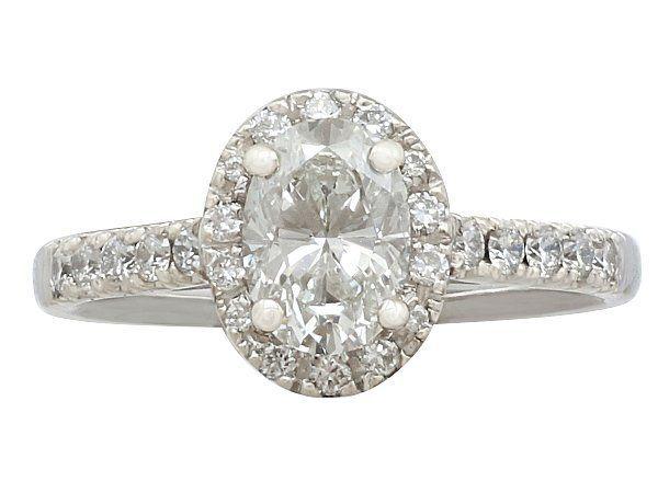 white gold dress ring