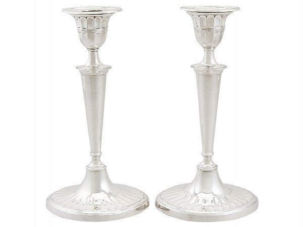 Edwardian candlesticks