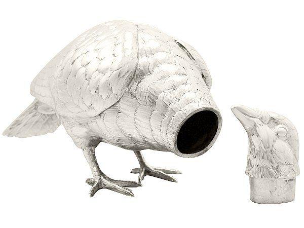 Sterling Silver Bird