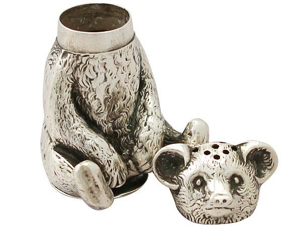Sterling Silver Bear Pepperette