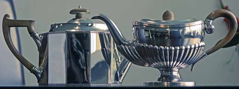 How to use a Silver Teapot