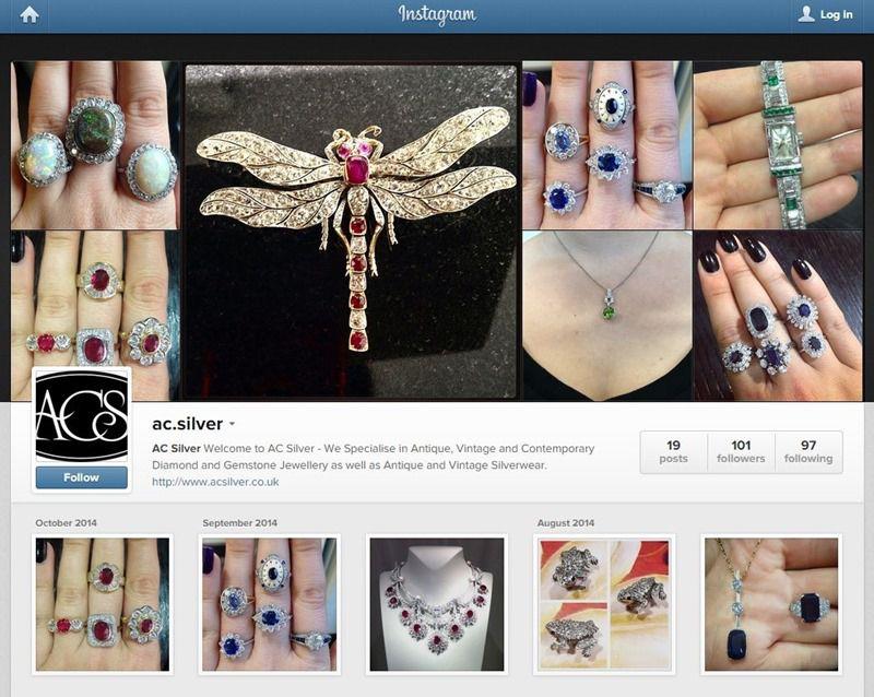 AC Silver Instagram Account