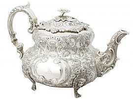 Victorian Louis style teapot