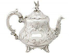 silver Louis teapot