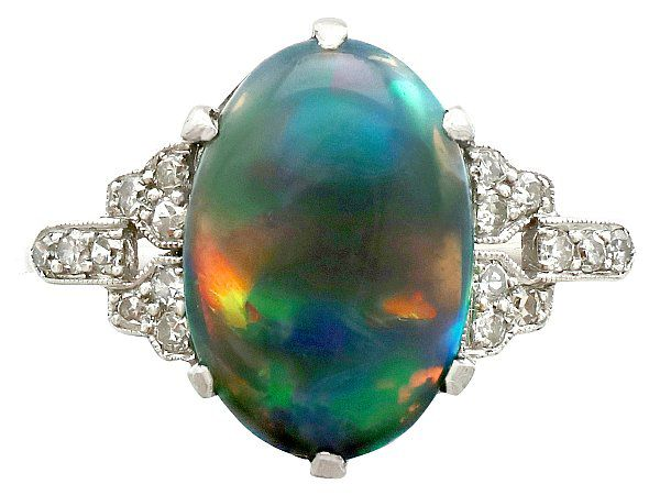 opal ring for her