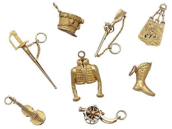 French Military charms