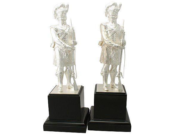 Silver Gordon Highlanders