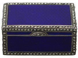 miniature music box