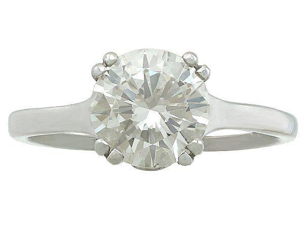 Modern Brillaint cut ring