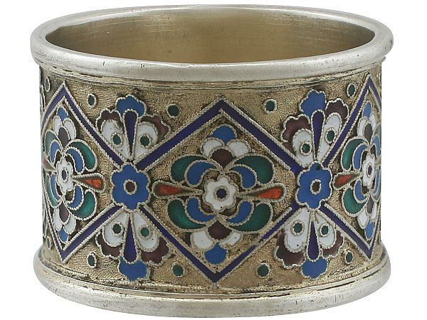 russian silver napkin rings