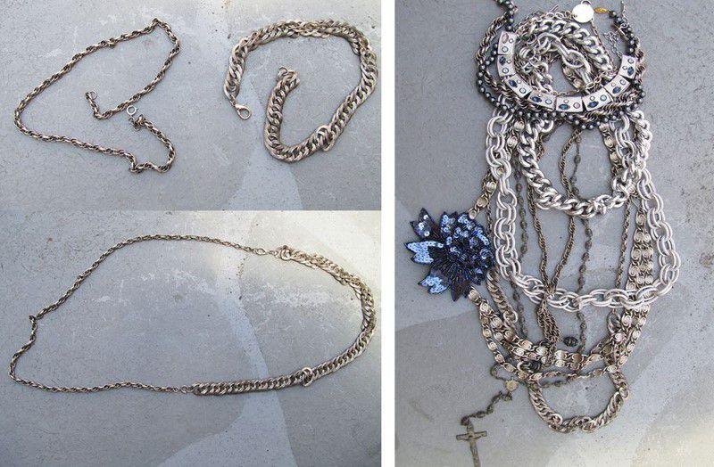Layered pendants