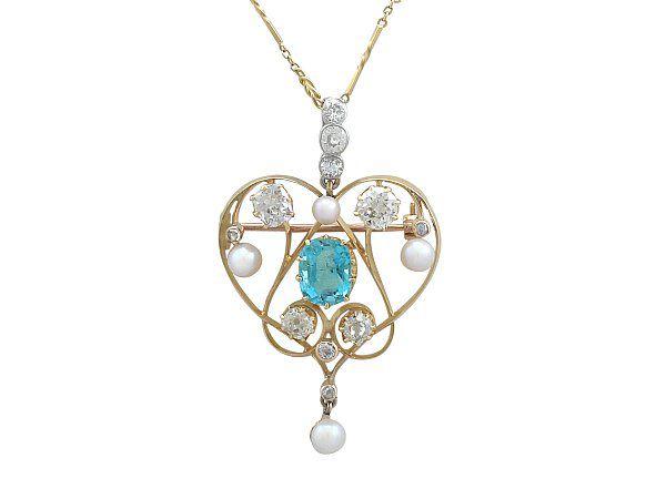 aquamarine jewellery for new year