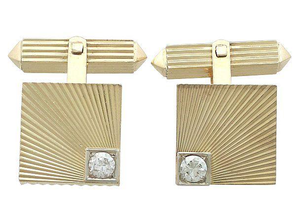 diamond cufflinks for new year