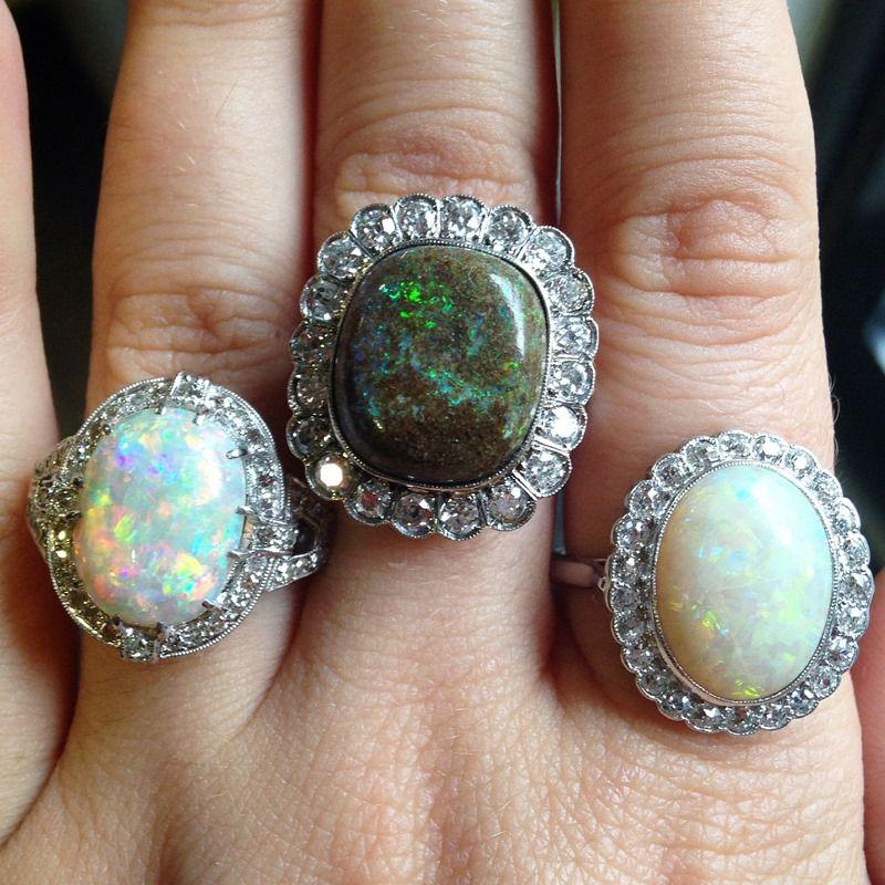 AC Silver Opal Jewellery