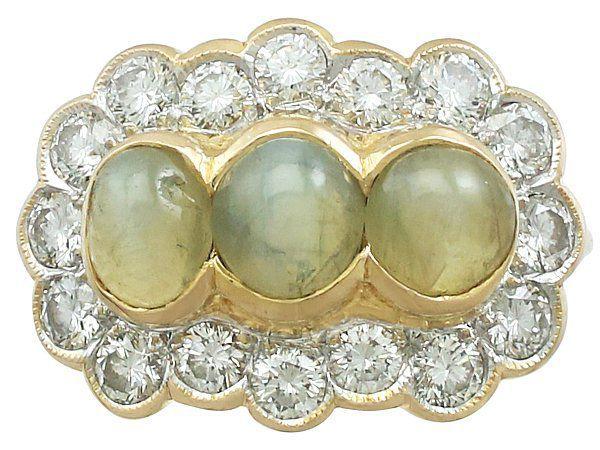 Asterism gemstone