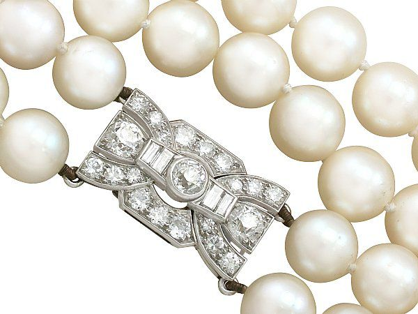 DIamond and Pearl Clasp