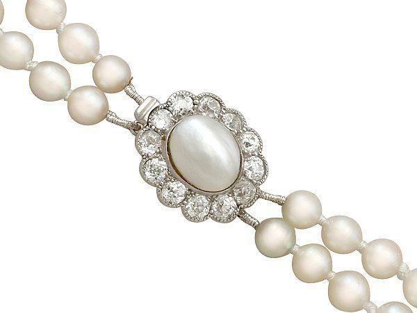 Antique Pearl Clasp