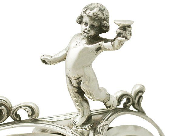 Putto Shaped Finial