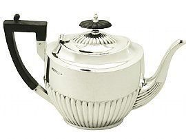 Edwardian Queen Anne Style Teapot