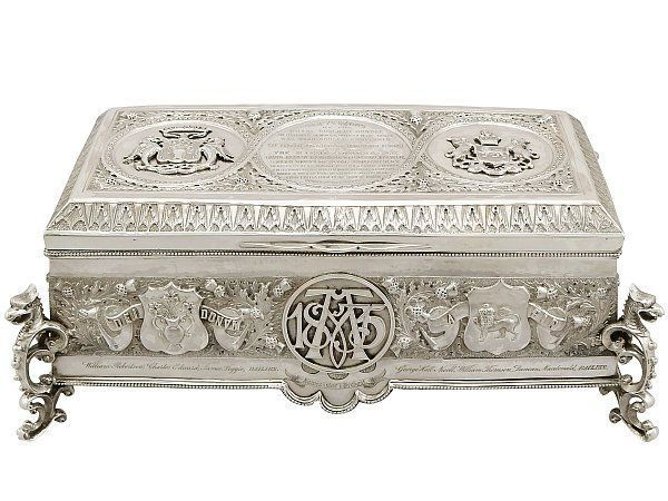 Scottish freedom casket