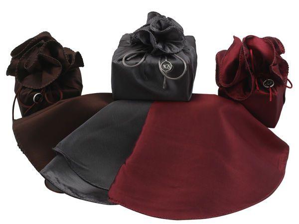 packaging silks