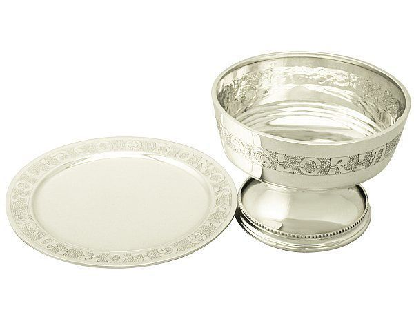 Sterling Silver Chalice and Paten