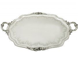 silver drinks trays