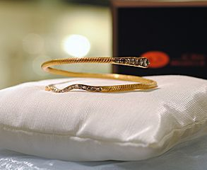 victorian snake bracelet
