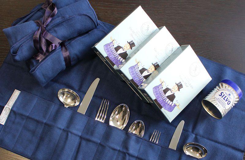 Silver Cutlery Storage