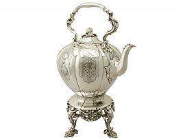 sterling silver spirit kettle