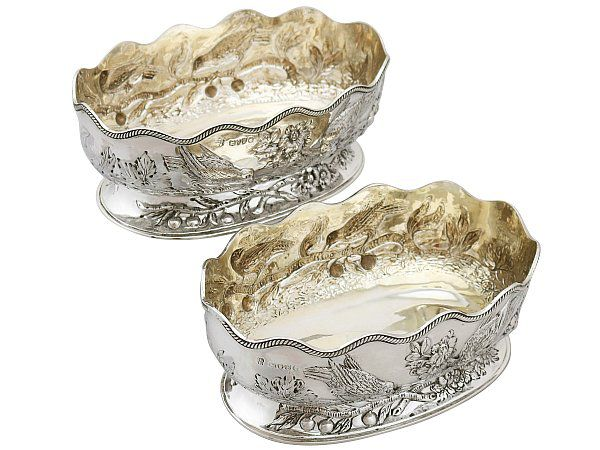 Silver Gilt Dishes