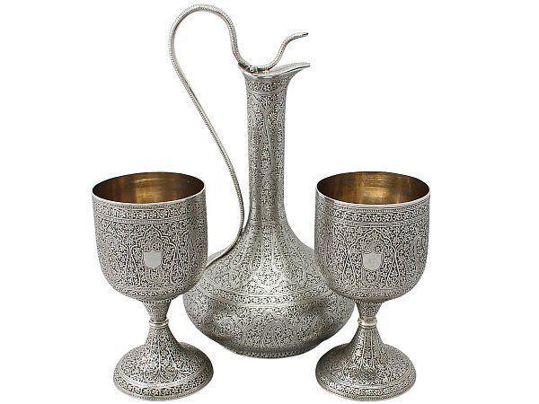 valentines goblets