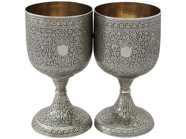 valentines silver drinkware