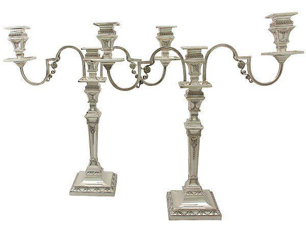 antique candelabrum