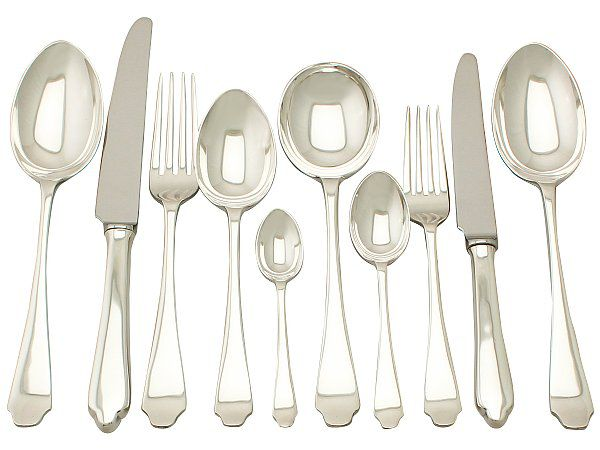 Silver Canteen of Cutlery
